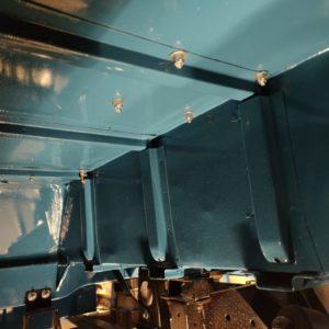 1992 LR LHD 110 Tuscan Blue 200 Tdi underneath LH rear innerwing