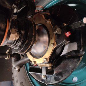 1992 LR LHD Defender 110 Tdi Riviera Blue B new swivels LH