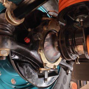 1992 LR LHD Defender 110 Tdi Riviera Blue B new swivels RH