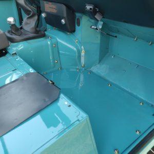 1992 LR LHD Defender 110 Tdi Riviera Blue B pass floor