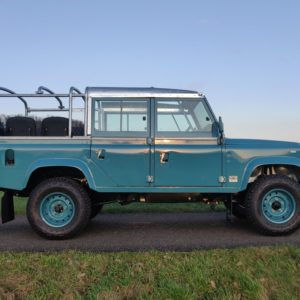 1992 LR LHD Defender 110 Tdi Riviera Blue B right side