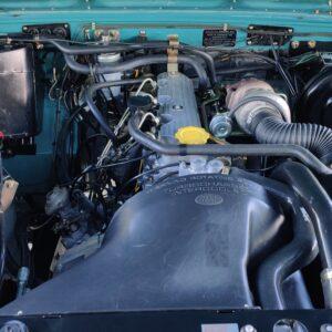 1992 LR LHD Defender 110 Tdi Riviera Soft Top engine bay