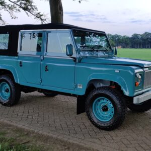 1992 LR LHD Defender 110 Tdi Riviera Soft Top right front