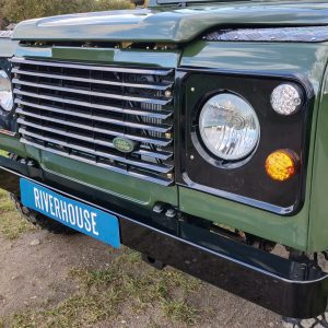 1992 LR LHD Defender 3 dr 200 Tdi Eastnor 2 grill close