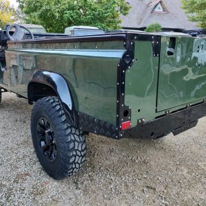 1992 LR LHD Defender 3 dr 200 Tdi Eastnor 2 repaint left rear