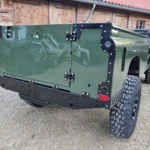 1992 LR LHD Defender 3 dr 200 Tdi Eastnor 2 repaint rear