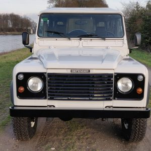 1994 LR LHD Defender 110 300 Tdi White A front