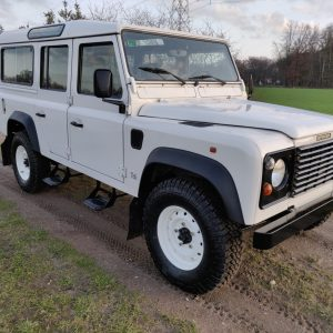 1994 LR LHD Defender 110 300 Tdi White A right front