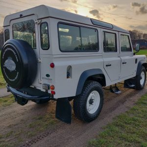 1994 LR LHD Defender 110 300 Tdi White A right rear