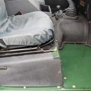 1995 LR LHD Defender 110 Conisten Green 300 Tdi seatbase right