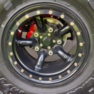 2003 LR Defender 90 Td5 Soft Top A 10 x 16 wheels