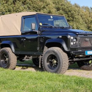 2003 LR LHD Defender 90 Soft Top right front