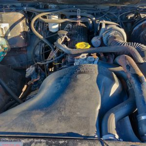 1993 LR LHD Defender 90 200 Tdi Grey B engine bay