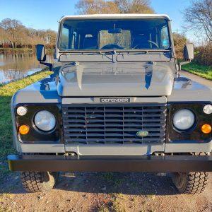1993 LR LHD Defender 90 200 Tdi Grey B front