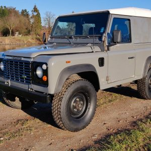 1993 LR LHD Defender 90 200 Tdi Grey B left front