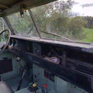 1976 Series 88 Pastel Green Petrol dash and trim