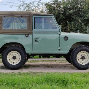 1976 Series 88 Pastel Green Petrol right side low