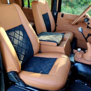 1992 LR LHD Defender 110 Santorini 1 interior front seats