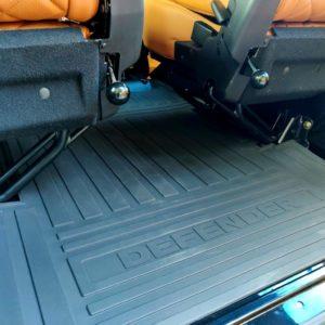 1992 LR LHD Defender 110 Santorini 1 interior rubber loadfloor mat