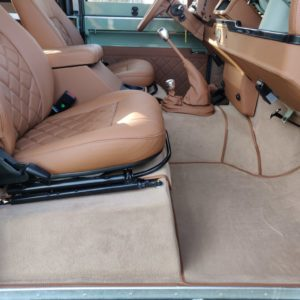1991 LR LHD Defender Grassmere 200 Tdi A front carpets