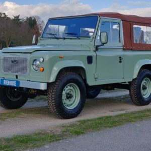 1991 LR LHD Defender Grassmere 200 Tdi A left front low