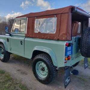 1991 LR LHD Defender Grassmere 200 Tdi A left rear