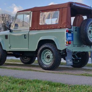 1991 LR LHD Defender Grassmere 200 Tdi A left rear low