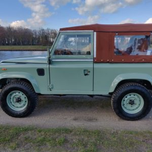 1991 LR LHD Defender Grassmere 200 Tdi A left side