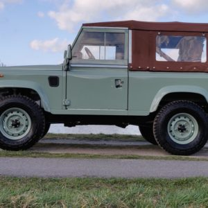1991 LR LHD Defender Grassmere 200 Tdi A left side low