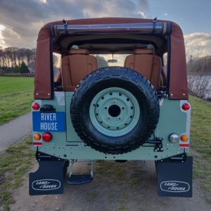 1991 LR LHD Defender Grassmere 200 Tdi A rear