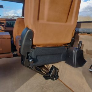 1991 LR LHD Defender Grassmere 200 Tdi A trim rear jump seat up