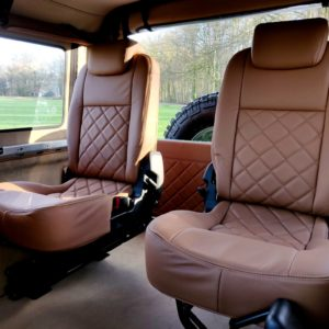 1991 LR LHD Defender Grassmere 200 Tdi A trim rear jump seats 2