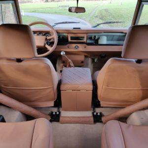 1991 LR LHD Defender Grassmere 200 Tdi A trim rear to front