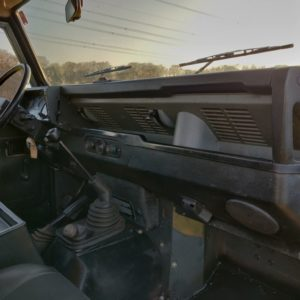 1985 LR LHD Defender 110 V8 CH dash and trim