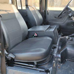 1985 LR LHD Defender 110 V8 CH front seats