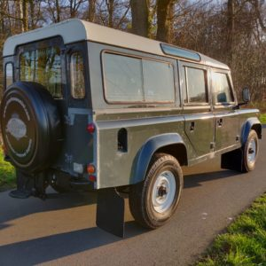 1985 LR LHD Defender 110 V8 CH right rear