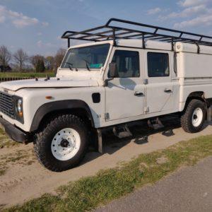 1993 LR LHD Defender 130 Tdi White NL A left front