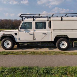 1993 LR LHD Defender 130 Tdi White NL A left side