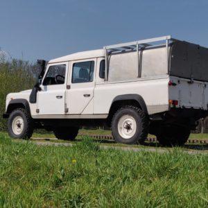 1994 LR LHD 130 200 Tdi White A left rear