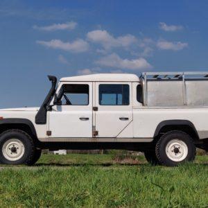 1994 LR LHD 130 200 Tdi White A left side