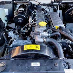 1994 LR LHD Defender 110 White 300 Tdi Alloy engine bay