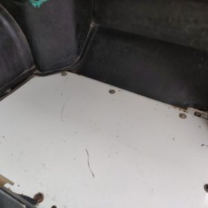 1994 LR LHD Defender 110 White 300 Tdi Alloy floorpan RH