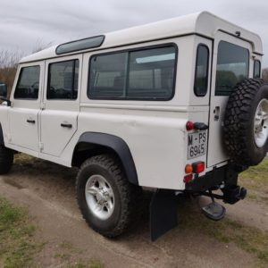 1994 LR LHD Defender 110 White 300 Tdi Alloy right rear
