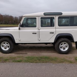 1994 LR LHD Defender 110 White 300 Tdi Alloy right side