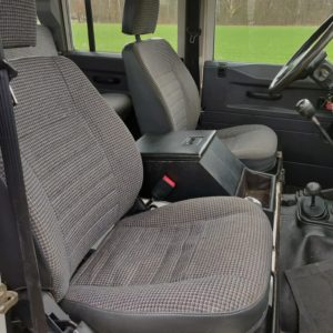 1994 LR LHD Defender 110 White 300 Tdi Alloy trim front seats