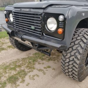 1994 LR LHD Defender 130 300 Tdi grill close
