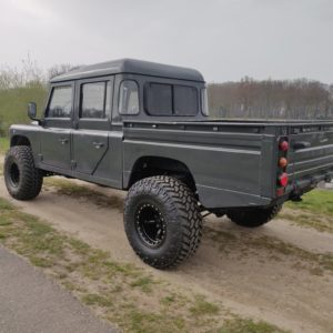 1994 LR LHD Defender 130 300 Tdi left rear