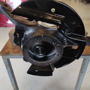 1992 LR LHD Defender 110 5 dr Tdi Cappuchino chassis front axle swivel left
