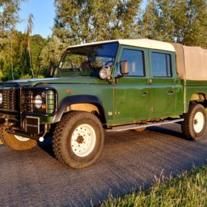 1994 LHD Defender 130 300 Tdi Conisten Green left front