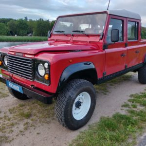 1996 LR lHD D130 300 Tdi Red left front
